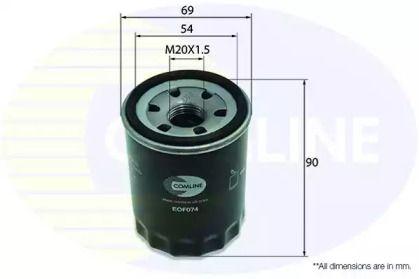 Масляний фільтр на MAZDA E-SERIE 'COMLINE EOF074'.