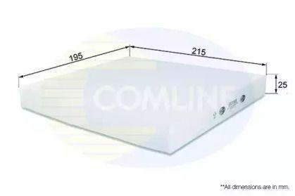 Салонний фільтр на Мазда СХ7 COMLINE EKF188.