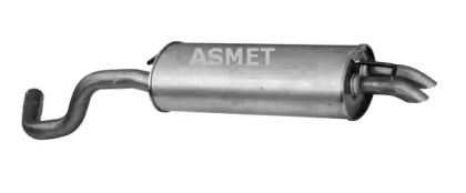 Глушитель на SEAT LEON 'ASMET 03.089'.