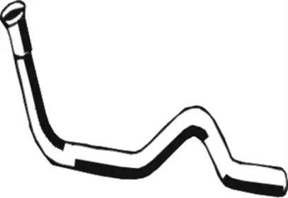 Приемная труба глушителя на Фольксваген Джетта 'ASMET 03.023'.