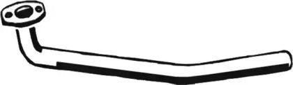 Приемная труба глушителя на Фольксваген Джетта 'ASMET 03.020'.