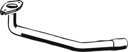 Приемная труба глушителя на VOLKSWAGEN JETTA 'ASMET 03.017'.