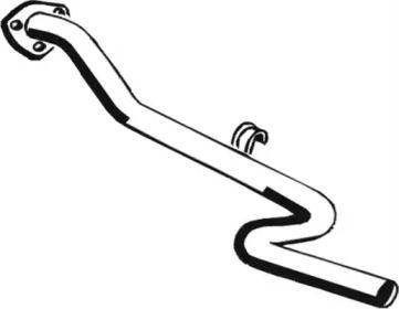 Приемная труба глушителя на VOLKSWAGEN LT 'ASMET 04.048'.