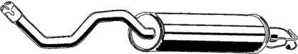 Глушитель на SEAT LEON 'ASMET 03.071'.
