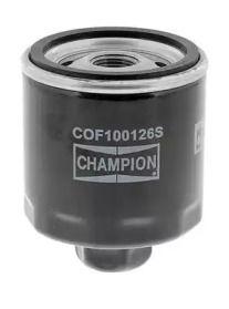 Масляный фильтр на SKODA OCTAVIA A5 CHAMPION COF100126S.