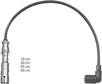 Высоковольтные провода зажигания на Шкода Октавия А5 CHAMPION CLS048.