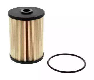 Топливный фильтр на SKODA OCTAVIA A5 'CHAMPION CFF100447'.
