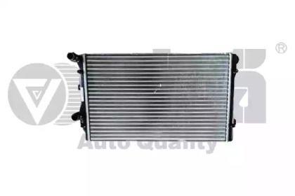 Радиатор охлаждения двигателя на Сеат Альтеа VIKA 11211011901.