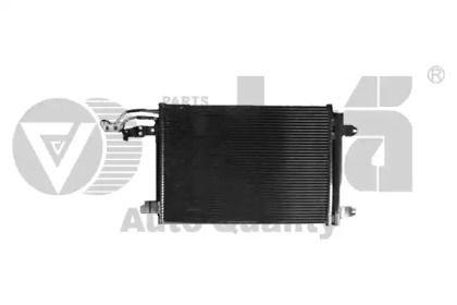 Радиатор кондиционера на SEAT LEON VIKA 28200006001.