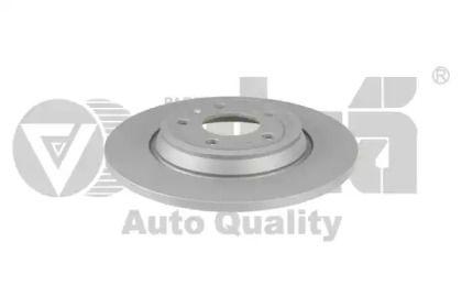 Задний тормозной диск на AUDI A7 'VIKA 66151055401'.