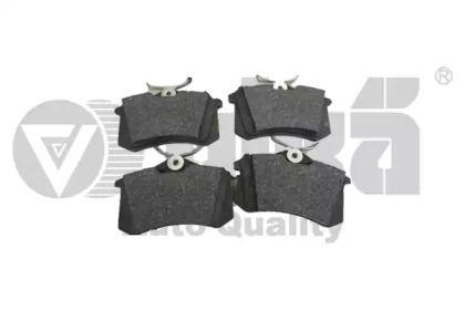 Задние тормозные колодки на SEAT LEON VIKA 66981408701.