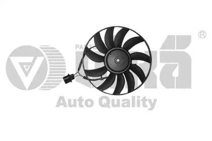 Вентилятор охлаждения радиатора на SKODA OCTAVIA A5 'VIKA 99590014001'.