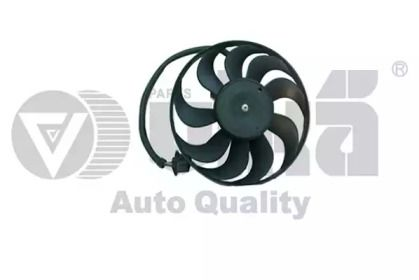 Вентилятор охлаждения радиатора на SEAT LEON 'VIKA 99590017901'.