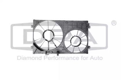 Вентилятор охлаждения радиатора на SKODA OCTAVIA A5 'DPA 11210797602'.