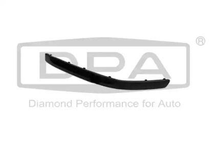 Облицовка бампера на SKODA OCTAVIA A5 'DPA 88070041102'.