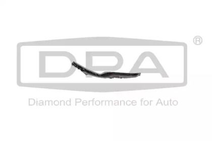 Левое крепление переднего бампера на SKODA OCTAVIA A5 DPA 88070876902.
