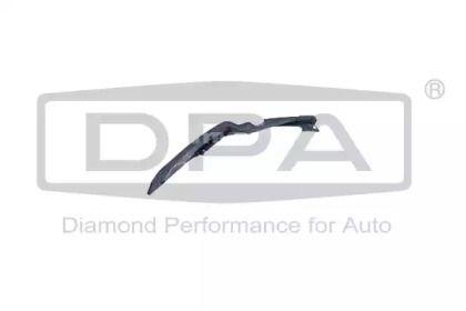 Правое крепление переднего бампера на Шкода Октавия А5 'DPA 88070877002'.