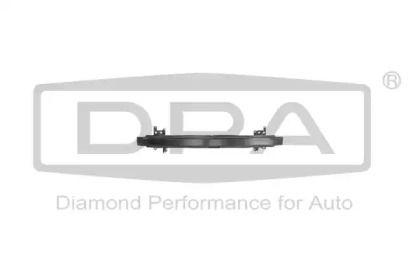 Усилитель переднего бампера на Фольксваген Гольф 'DPA 88071152602'.