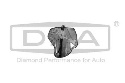 Задний правый стеклоподъемник на Шкода Октавия А5 'DPA 88390303302'.
