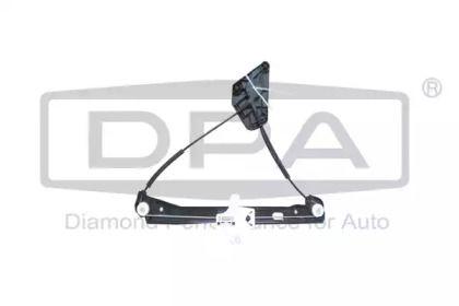 Задний правый стеклоподъемник на Сеат Толедо 'DPA 88391036702'.