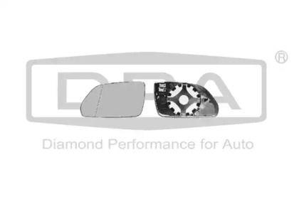 Левое стекло зеркала заднего вида на SKODA OCTAVIA A5 'DPA 88570719502'.