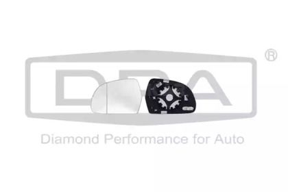 Правое стекло зеркала заднего вида на SKODA OCTAVIA A5 DPA 88570861402.