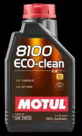 Моторне масло 8100 ECO-CLEAN 5W-30 1 л MOTUL 101542.