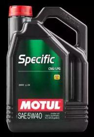 Моторне масло SPECIFIC CNG/LPG 5W-40 5 л MOTUL 101719.