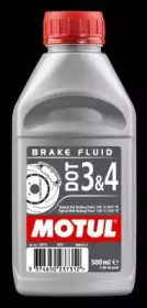 Тормозная жидкость на Хонда С2000 'MOTUL 102718'.