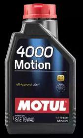 Моторное масло 15W-40 1 л 'MOTUL 102815'.