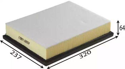 Воздушный фильтр ASAKASHI A1525.