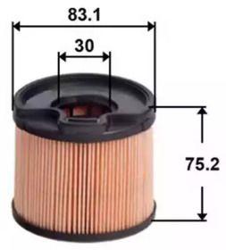 Топливный фильтр 'ASAKASHI FE0012'.