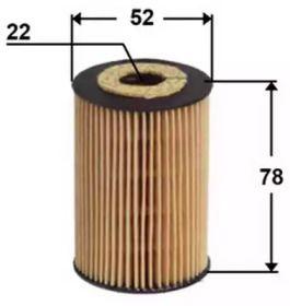 Масляный фильтр ASAKASHI OE0012.