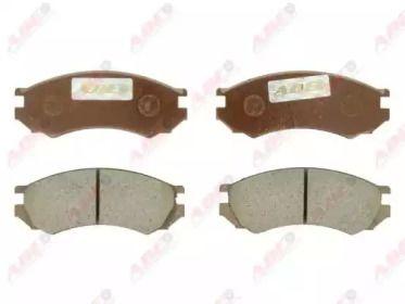Переднї гальмівні колодки ABE C11050ABE.