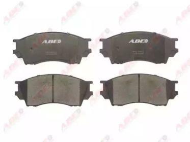 Переднї гальмівні колодки на Мазда Кседос 9 'ABE C13040ABE'.