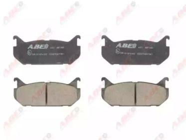 Заднї гальмівні колодки на MAZDA MX-6 'ABE C23007ABE'.