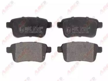 Тормозные колодки ABE C2R012ABE.