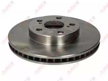 Вентилируемый тормозной диск на Тайота Приус 'ABE C32183ABE'.
