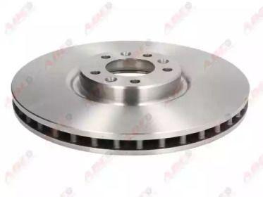 Передний тормозной диск на Ситроен С6 'ABE C3C035ABE'.