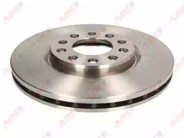 Вентилируемый тормозной диск на ALFA ROMEO GIULIETTA 'ABE C3D024ABE'.