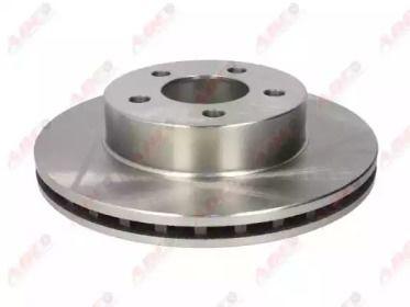 Вентилируемый передний тормозной диск на FORD EXPLORER 'ABE C3G043ABE'.