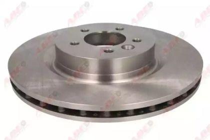 Вентилируемый тормозной диск на RANGE ROVER SPORT 'ABE C3I010ABE'.