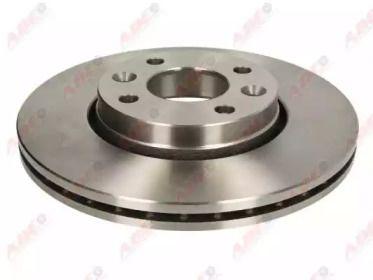 Вентилируемый передний тормозной диск на Дача Докер 'ABE C3R045ABE'.