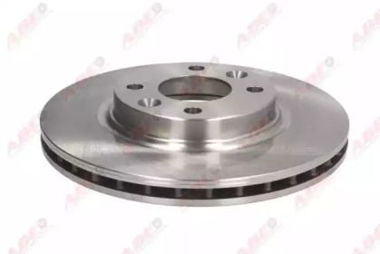 Вентилируемый тормозной диск на SMART FORTWO 'ABE C3R049ABE'.