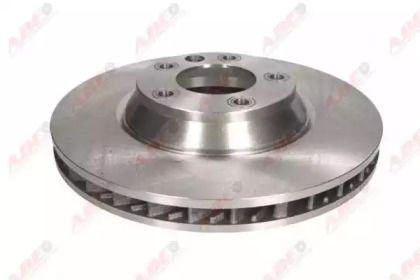 Вентилируемый тормозной диск на Порше Кайен 'ABE C3W053ABE'.