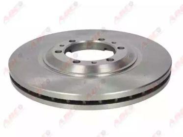 Вентилируемый передний тормозной диск на Опель Фронтера 'ABE C3X040ABE'.