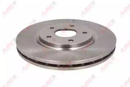 Передний тормозной диск на DODGE GRAND CARAVAN 'ABE C3Y014ABE'.