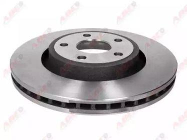 Передний тормозной диск на Додж Дюранго 'ABE C3Y038ABE'.