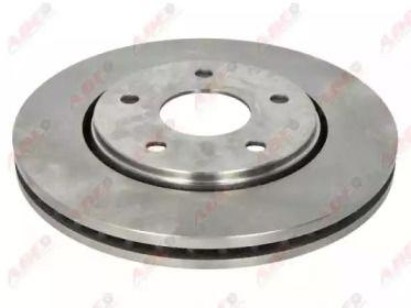 Вентилируемый передний тормозной диск на Фольксваген Роутан 'ABE C3Y039ABE'.