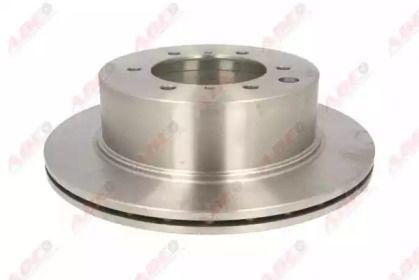 Вентилируемый тормозной диск на Хендай Терракан 'ABE C40509ABE'.